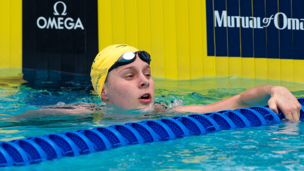 Baffling Backstroke At Vic Open Renders Hocking & Wilson Reinstated