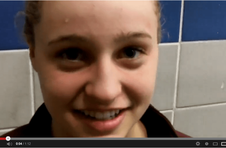 Oakton Freshman Megan Byrnes Talks About Excitement of Winning Two Regional Records