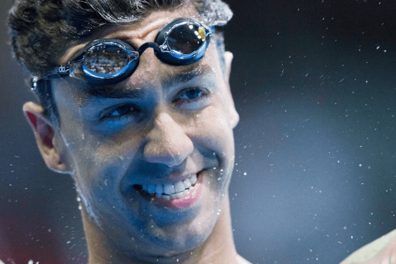 Anthony Ervin 50 Freestyle, 19.47, Video of the Race at Schroeder YMCA A+ Meet