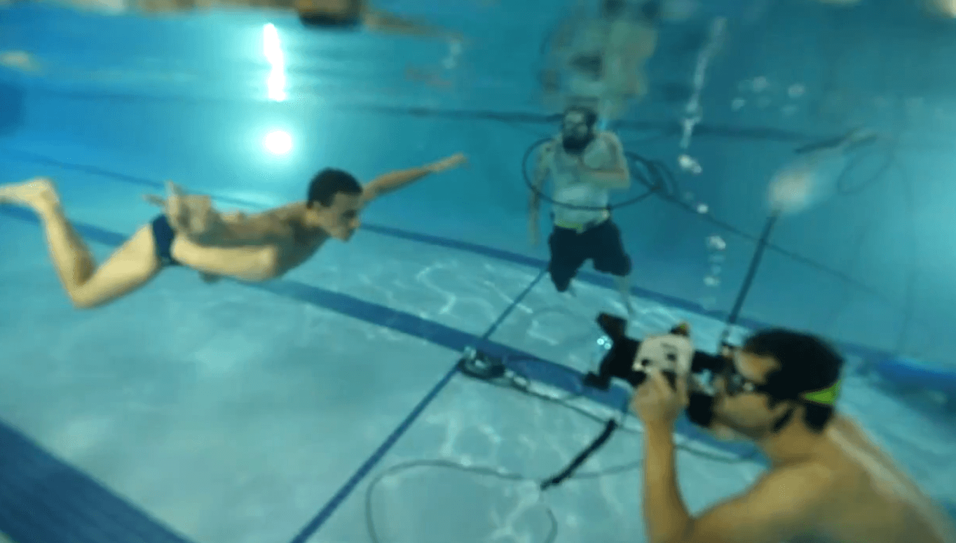 Ryan Lochte Makes Nirvana Tribute Recreates Nevermind Album Cover