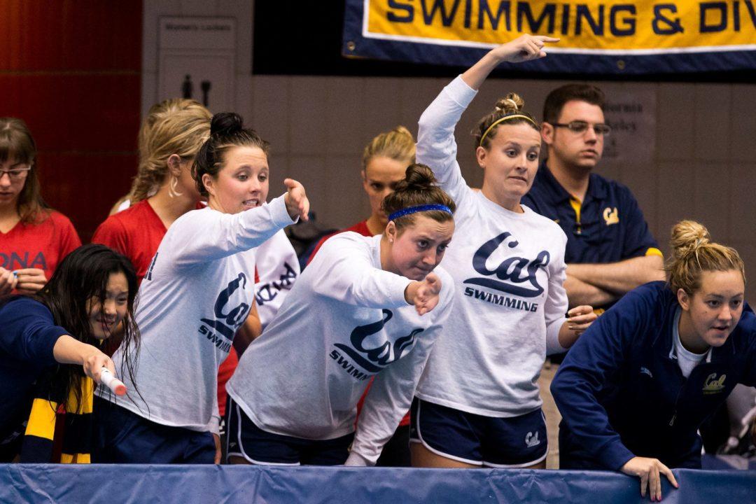 "Cal Women Get 6 ""Ups"" on Day 2 of NCAA's; Georgia Has 10 Total Scorers"