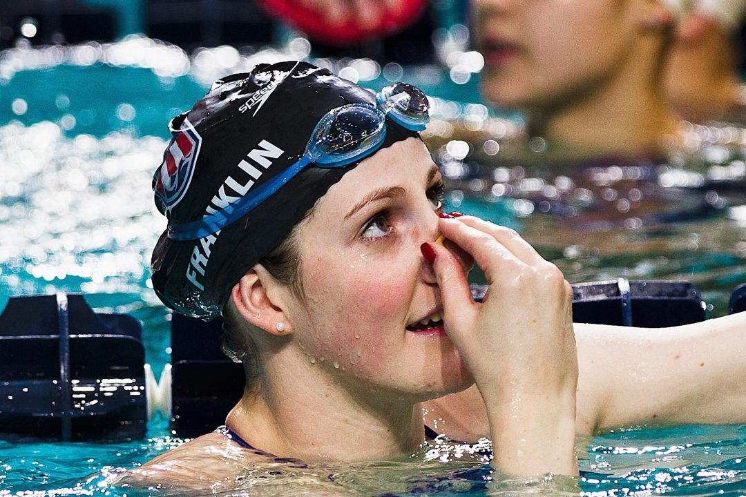 Missy Franklin Nominated For AAU Sullivan Award (Voting Open Now)