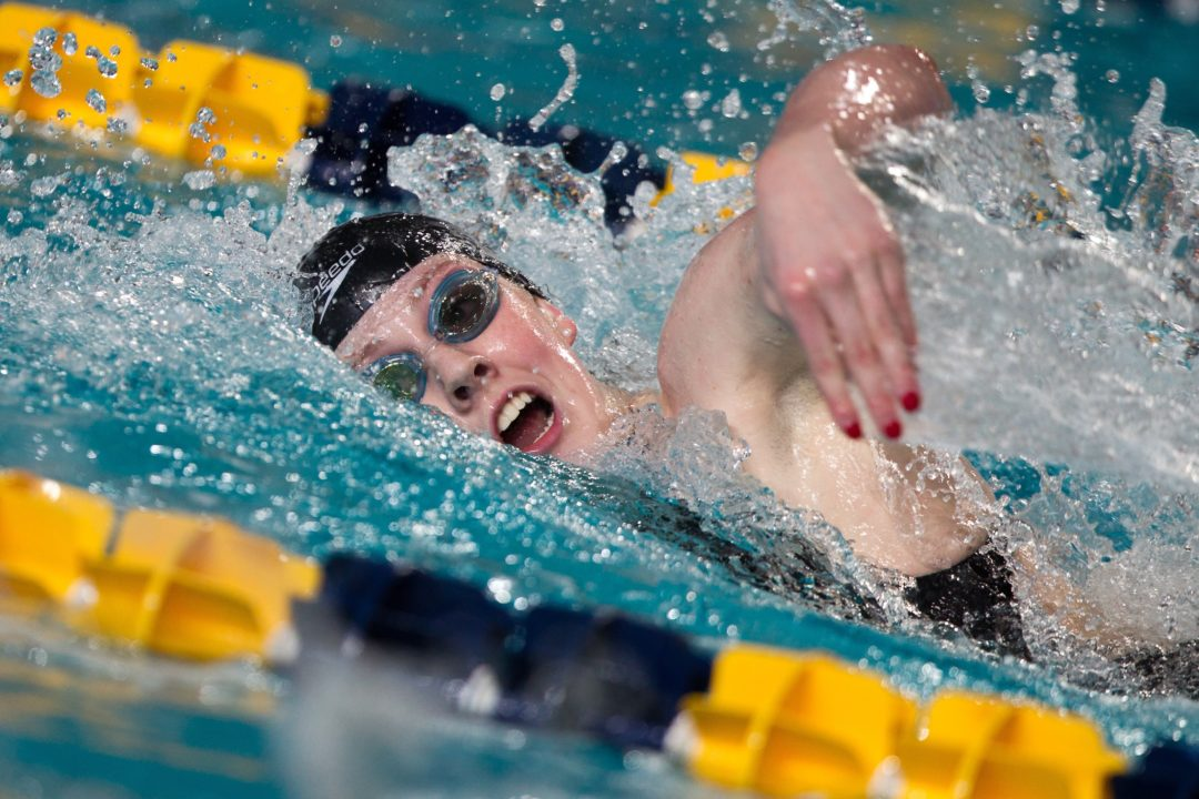 Franklin Swims Lifetime Best in 500 Free on Saturday at Federal Way Sectional