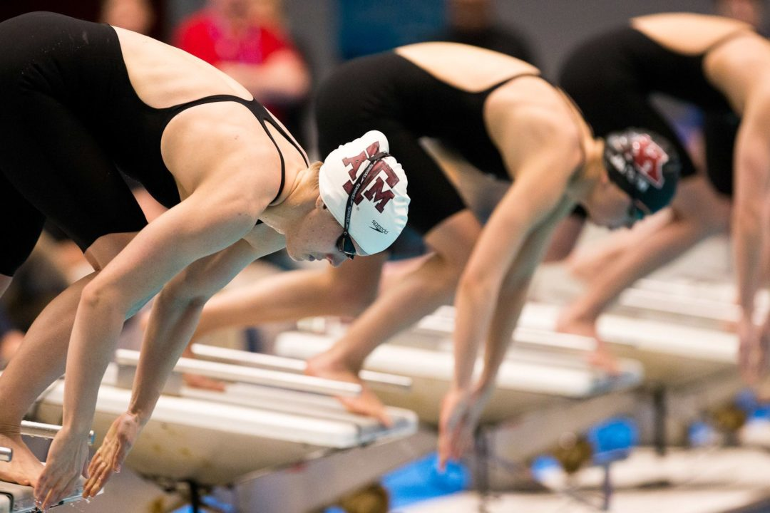 A&M women top Stanford at Art Adamson, Aggie men also victorious