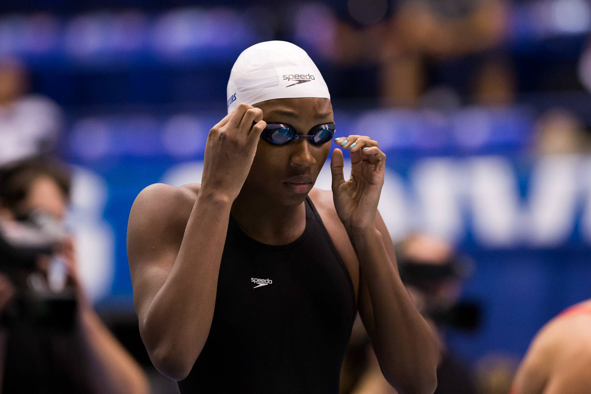 Natalie Hinds Roars Back: 21.91 50 Free At GA Senior State Champs
