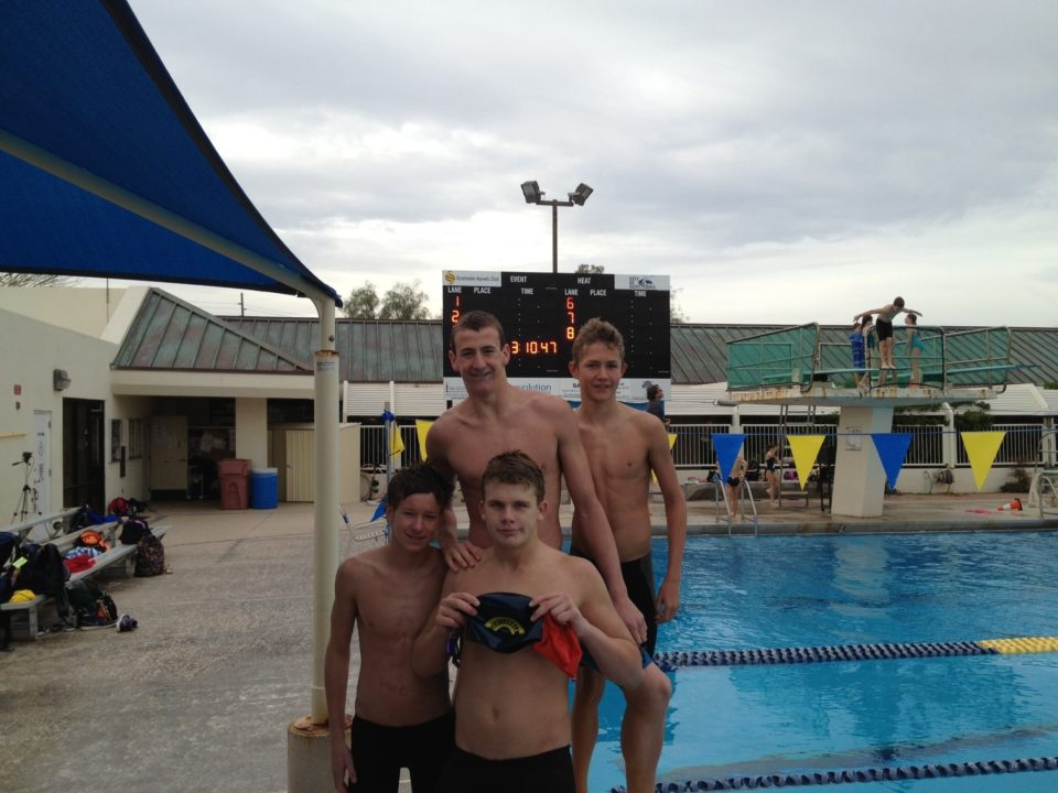 Scottsdale Aquatic Club Breaks Two National Age Group Relay Records