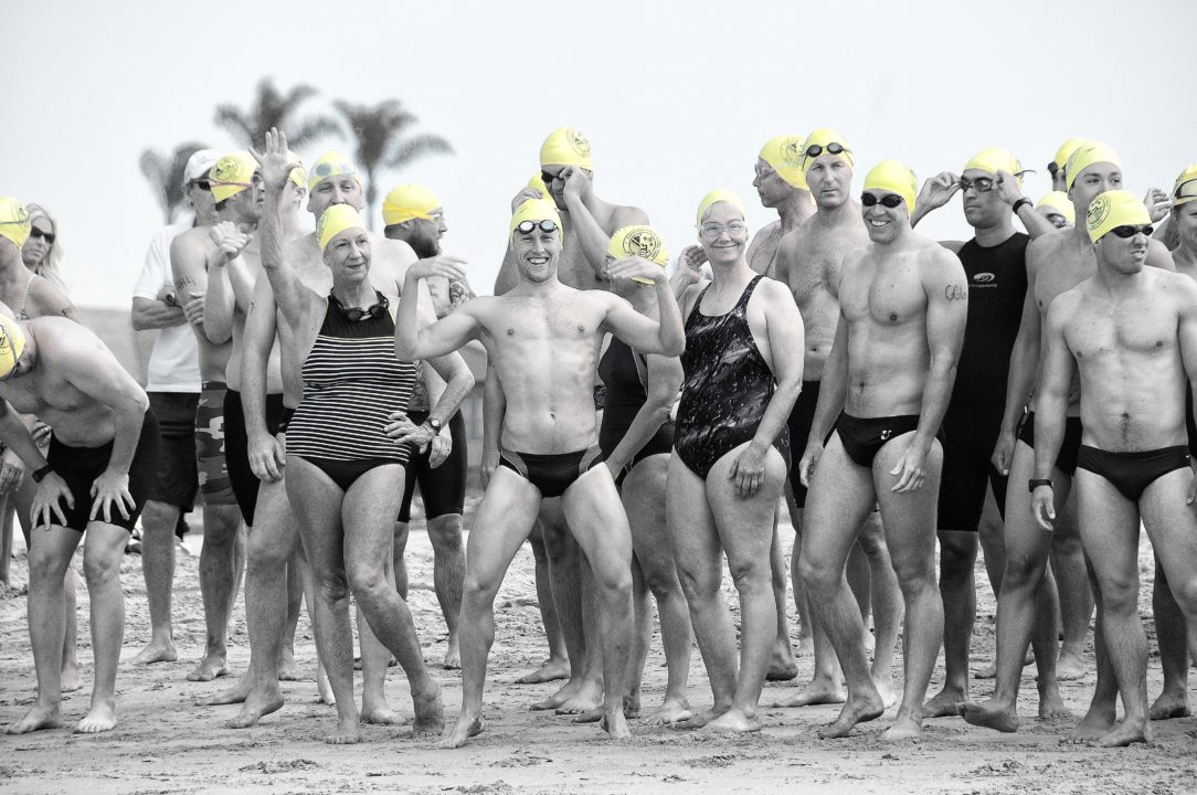 Getting started in open water swimming