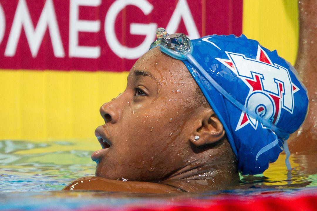 First Colony's Simone Manuel Breaks Dagny Knutson National Age Group Record