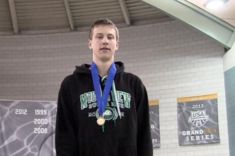 VIDEO:Noah Lucas on breaking Olympian Tom Malchow's 500 record, and 4th, Mitch Herrera