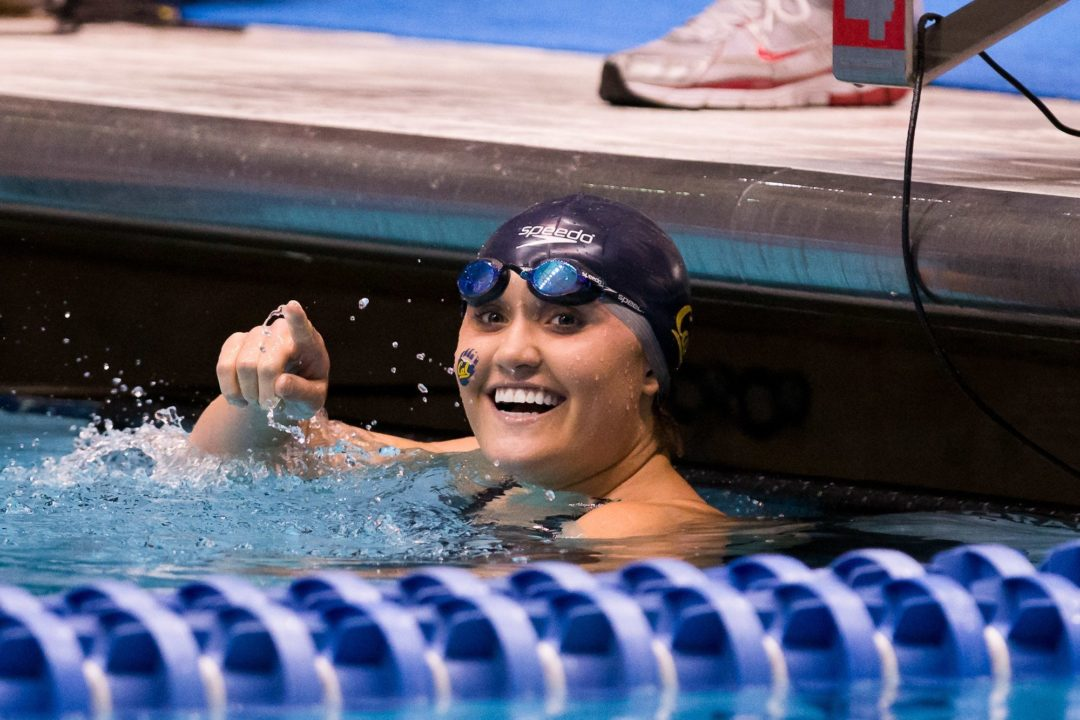 Cal splits 400 free relays, still gets A cut on final day of UNLV Invite