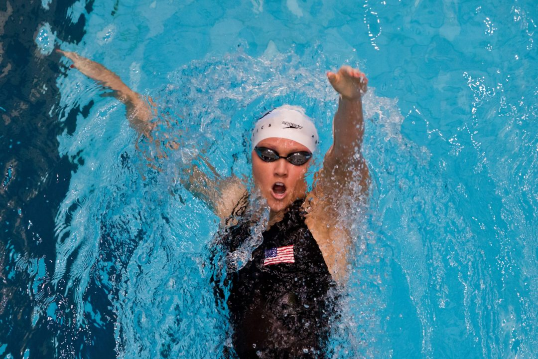 Pelton Bounces Back for Top Seed in 200 Backstroke on Final Day of Pac 12's (Up/Downs Included)