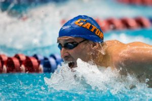 Race Video: Rousseau wins 200 Butterfly, 1:58.50, at the Santa Clara