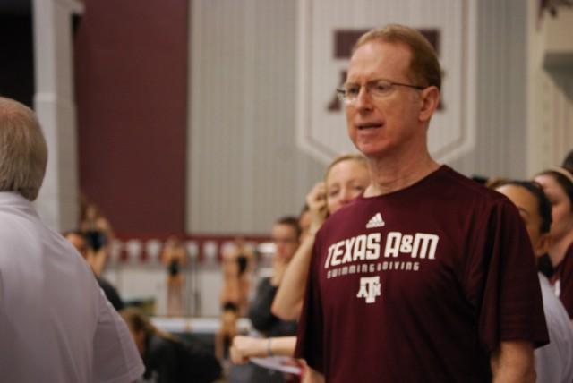 Texas A&M coach Steve Bultman Credit: Janna Schulze