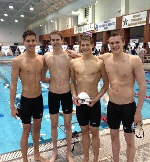 SwimMAC Carolina Breaks 15-18, 17-18 NAG Relay Records; Donahue Makes Return