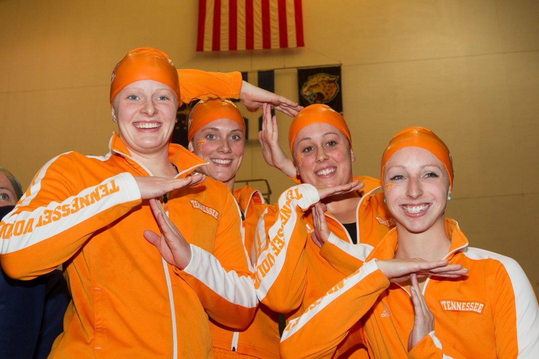 Tennessee Continues Tear in Relays on Night 2 at Women's NCAA Championships