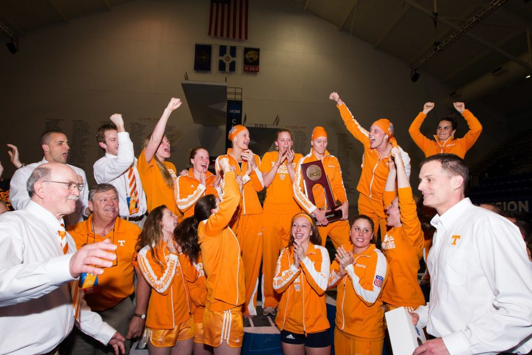 Tennessee Tops UNC-Wilmington to Open Dual Meet Season