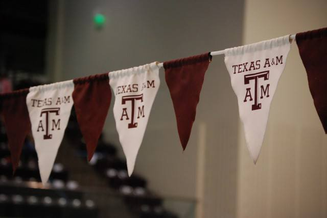 The Texas A&M women's team took 2nd place overall in their first-ever SEC Championship meet: a meet that they hosted. Credit: Janna Schulze