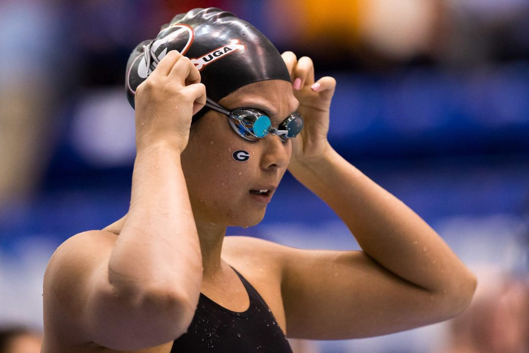 Women's NCAA Championship Day 1 Ups/Downs: Georgia's big day yields 13 scoring swims