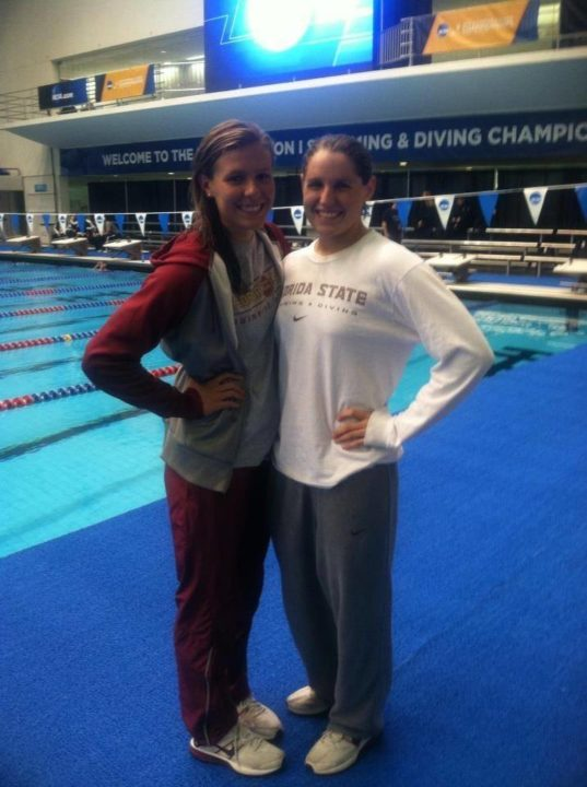 FSU Record Holder Elizabeth Pepper Chooses Transfer Destination for Fall of 2013