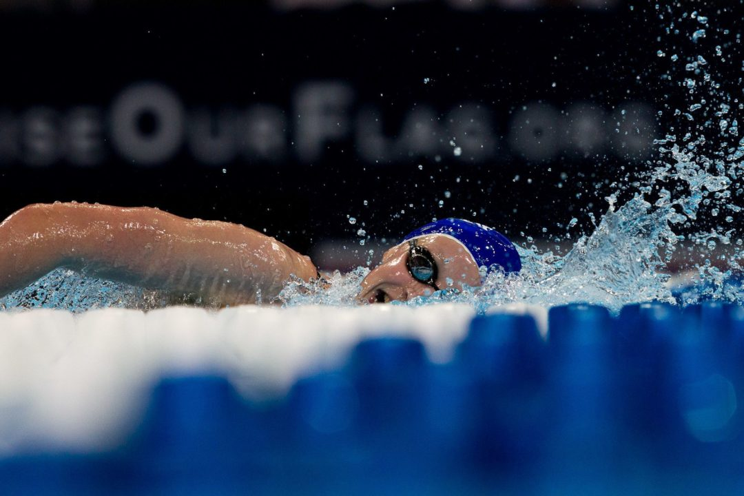 Ledecky Swims to World Leader in 800 Free; Breeja Completes Breaststroke Sweep