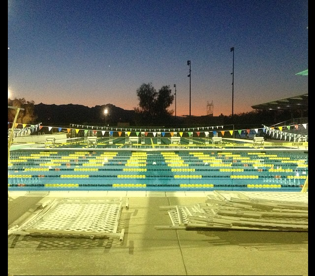 Arizona Gold Swimming: Multiple State Records Fall In Prelims Of Arizona HS State