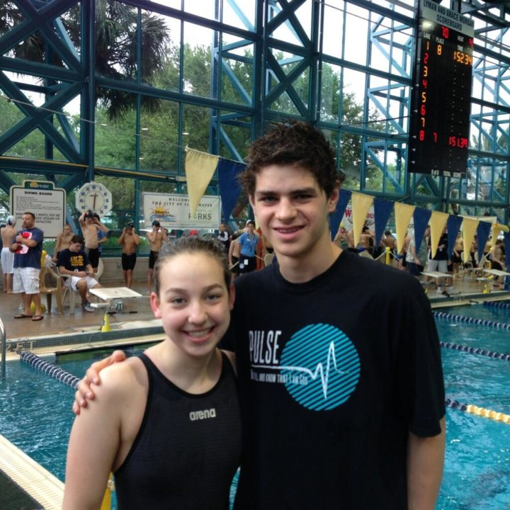 Andrew, Barney Break Meet Records in Fridays Prelims at Showcase Classic