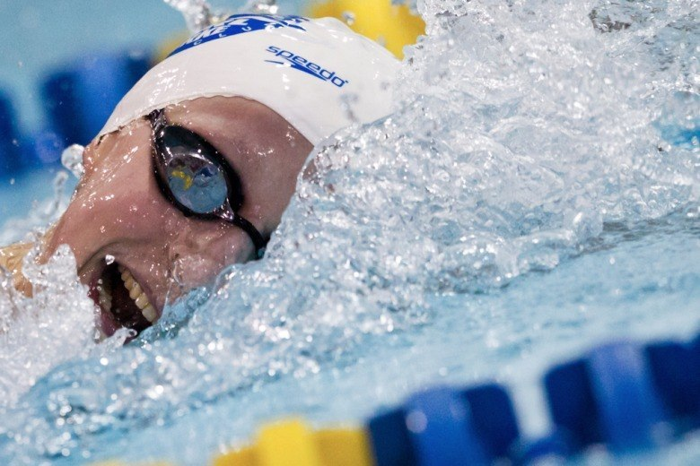 Katie Ledecky Blows Away 400 Free Field, Day 1 of Mesa Grand Prix
