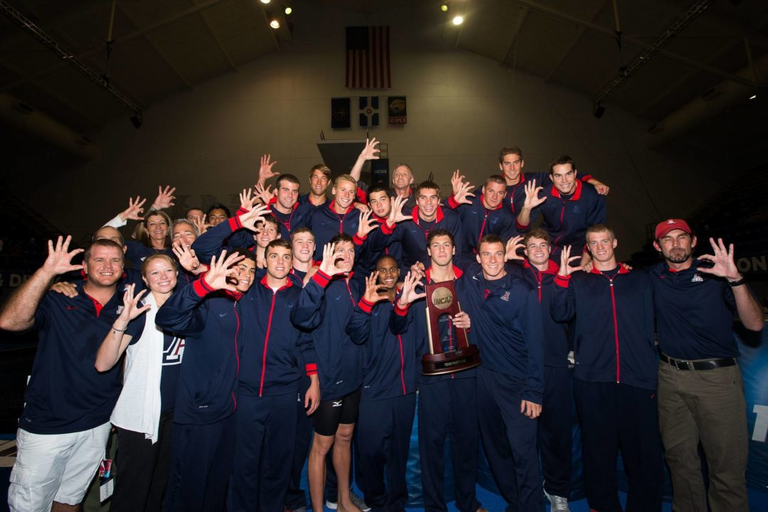 Arizona Men Pick Up High-Upside, 6'4″ Breaststroker from Indiana
