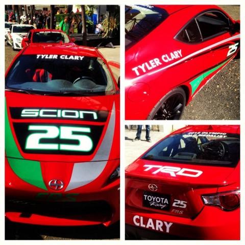 Tyler Clary, Toyota Pro Celebrity