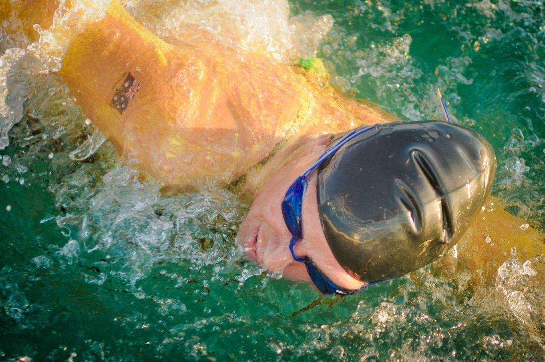 Chloe McCardel in Florida Preparing for the big swim