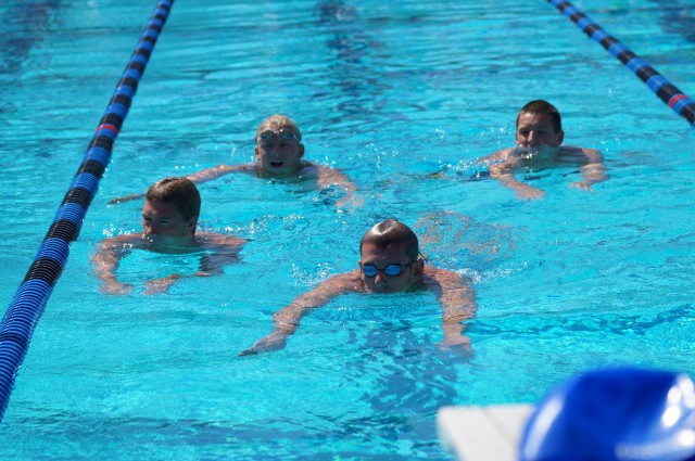 NCS: Campo record breaking 400 free relay & 200 med relay:  Sven Campbell, Steven Stumph, JD Ratchford, Grant Sivesind