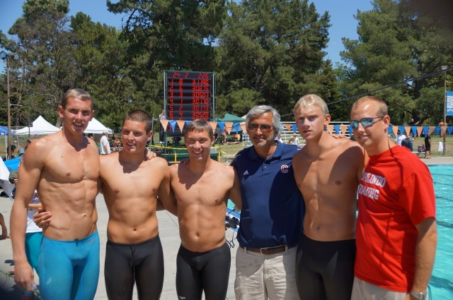 NCS 400 Free Championships, record breakers