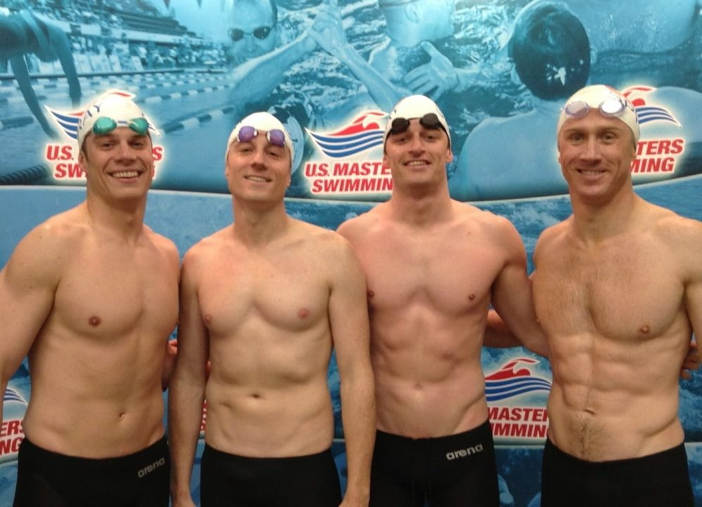 Team SwimSpray Had a Golden Debut at Masters Nationals