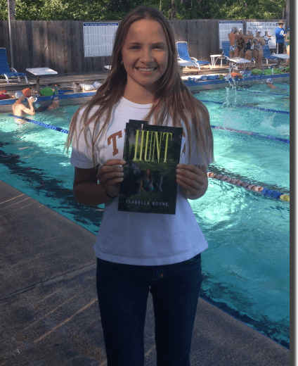 Dad's Club 13-Year Old Swimmer Isabella Boone Releases First Published Book