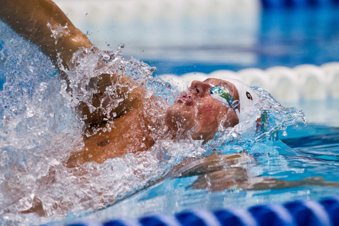 Lochte finishes first and second on the final night in Vancouver