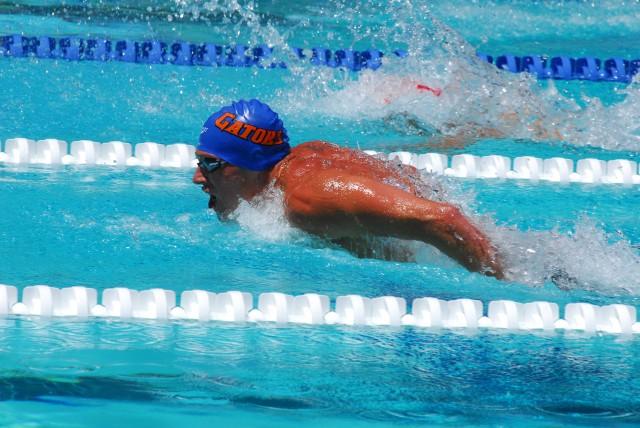 Ryan Lochte, Gator Swim Club, at the 2013 Santa Clara Grand Prix