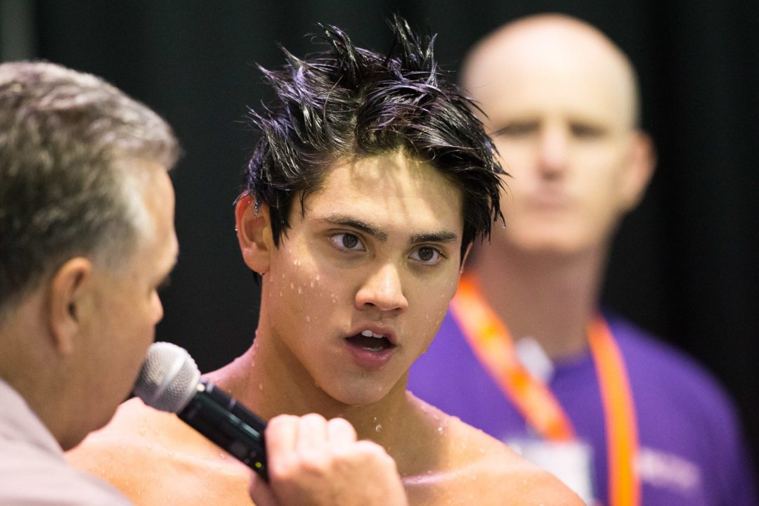 Joseph Schooling Wins Three Golds in Three Days at 2013 Southeast Asian Games