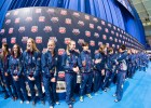The 2013 World Championship Team (Photo Credit: Tim Binning, TheSwimPictures)