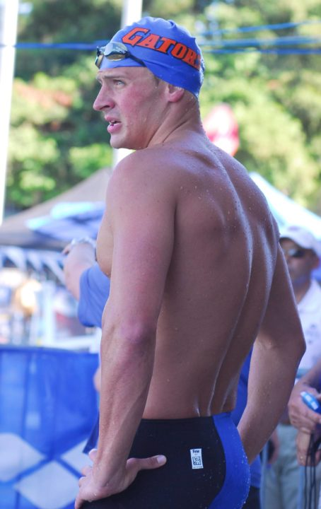 Lochte Takes Top Seed in 400 IM on Day 3 at 2013 Santa Clara Grand Prix