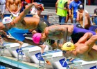 Matt Grevers & Anthony Ervin, 2013 Santa Clara Grand Prix, 50 freestyle  (Photo Credit: Bill Collins)