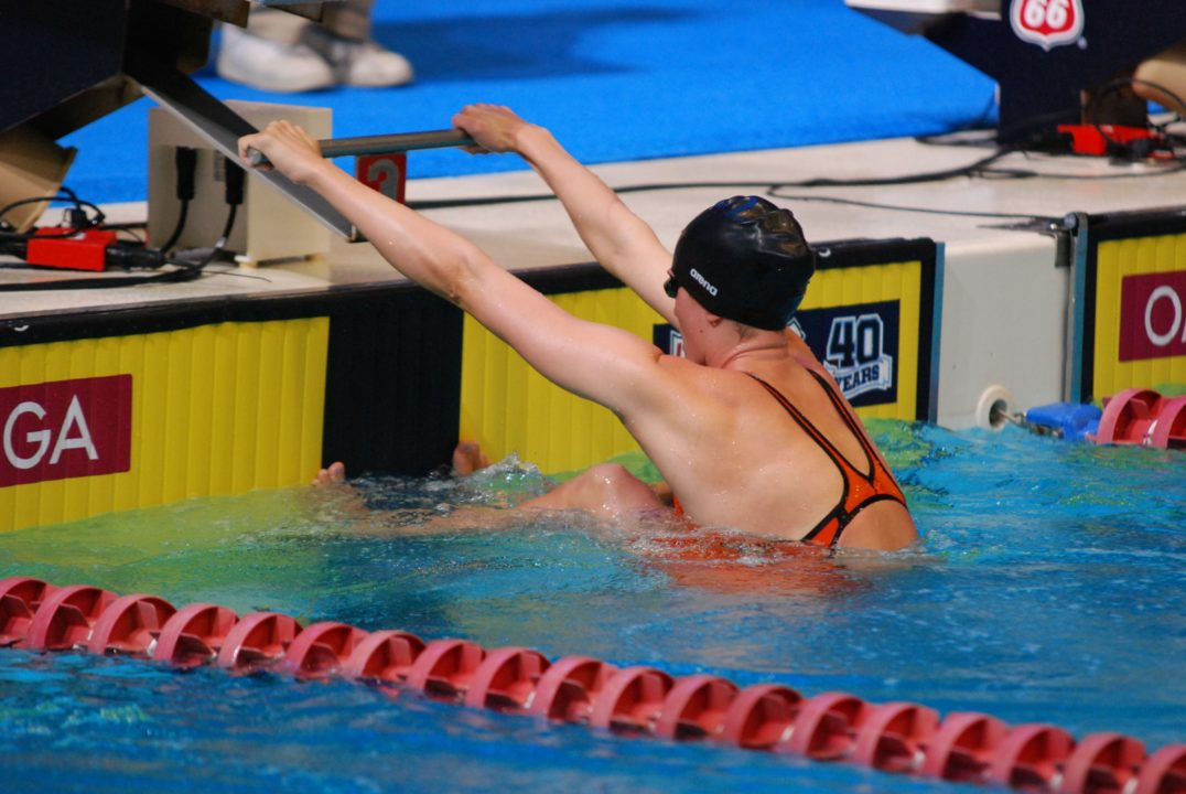 Coffman gunning for twin titles, Johnson fast at Sunday prelims of Speedo Grand Challenge