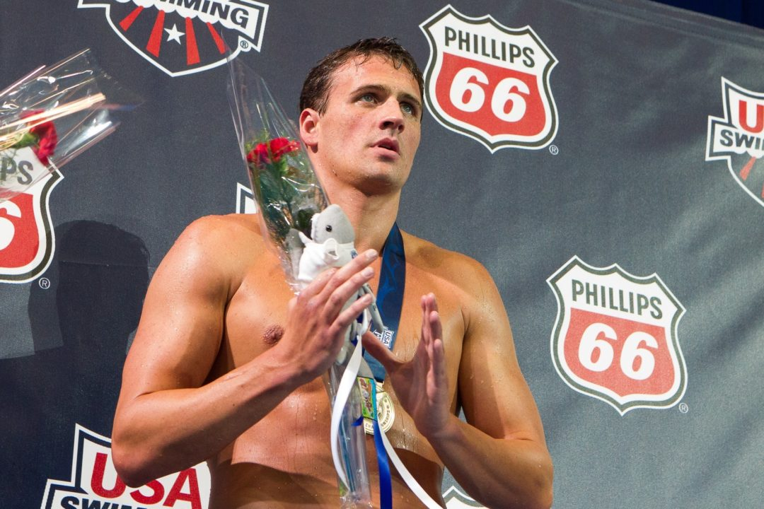 Lochte Scratches All Events For Friday