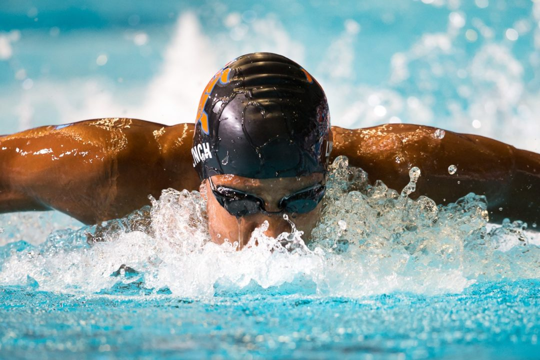 Justin Lynch breaks Phelps 15-16 NAG record in 100 butterfly