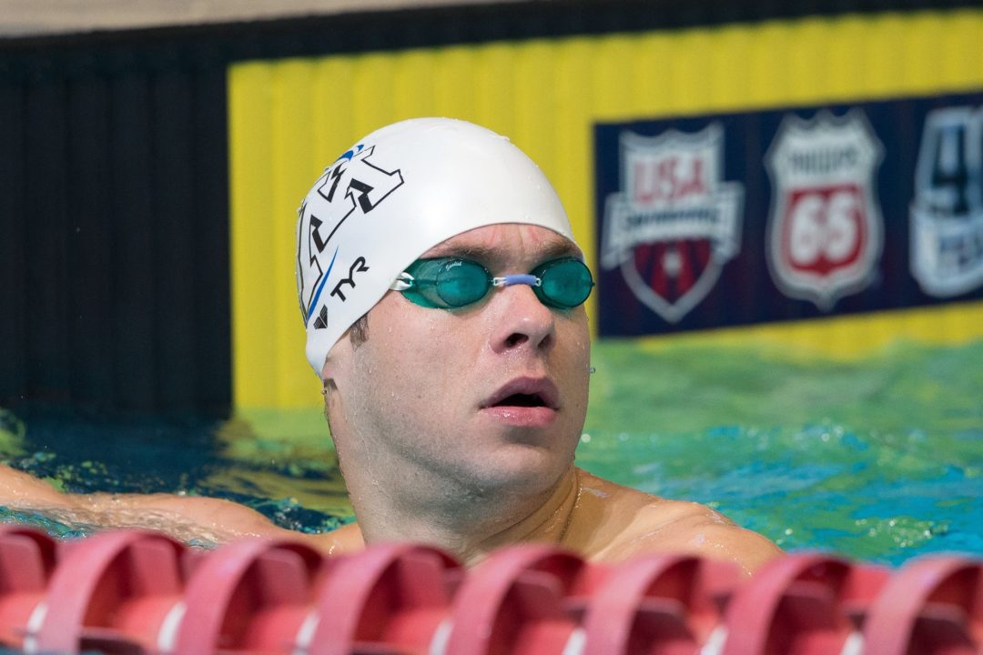Plummer Tops Podium in Backstroke, Video Interview