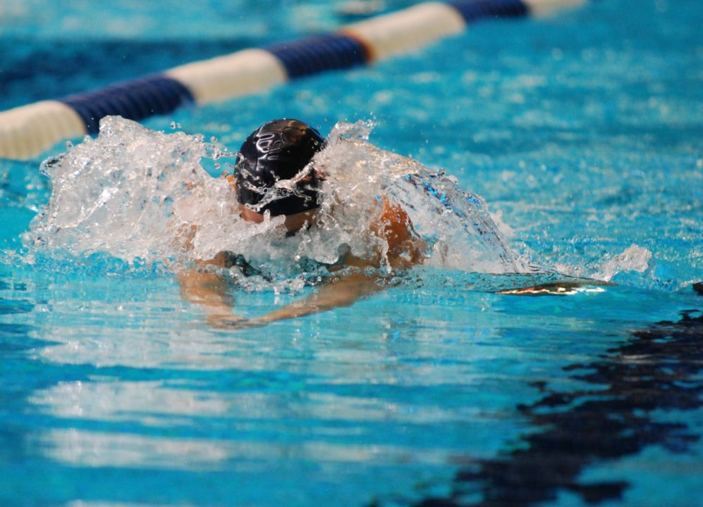 Two national breaststroke records go down on the final day of Argentinian Championships
