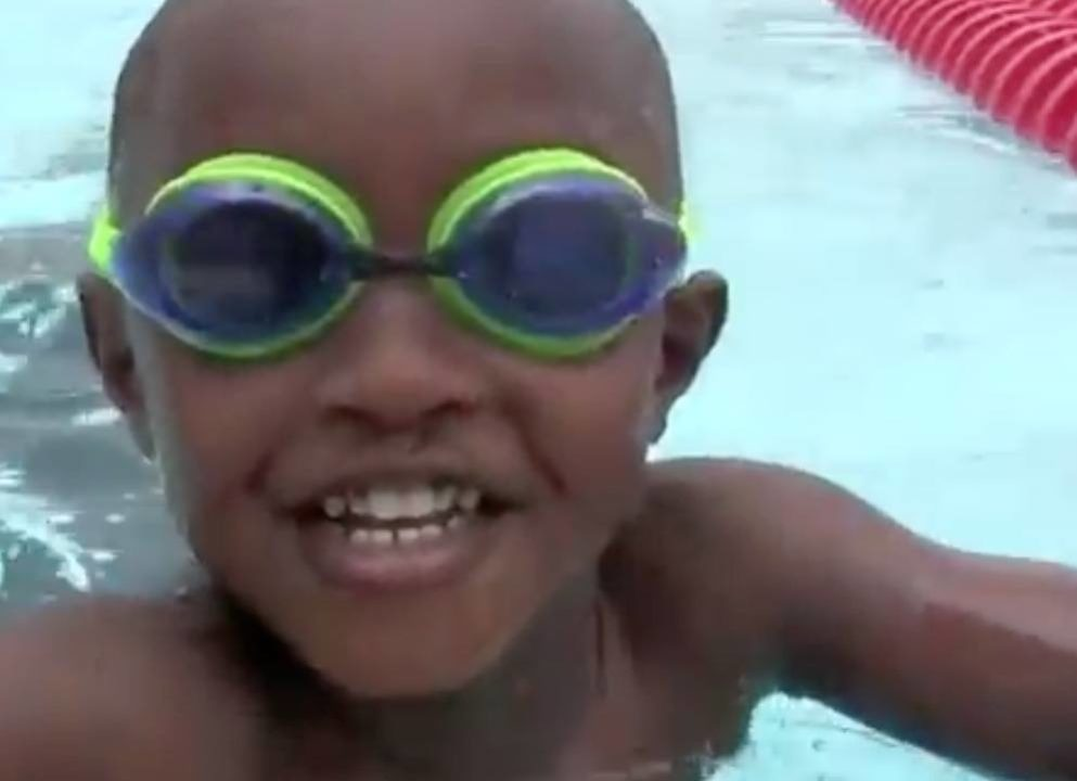 3 Year Old Swims 100 meters at Swimming Hall of Fame – Video
