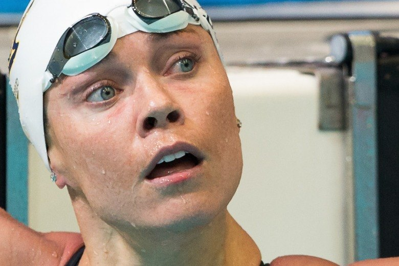 Coughlin Tries to Not Over Think Her 50 Free Win, Video Interview – Updated