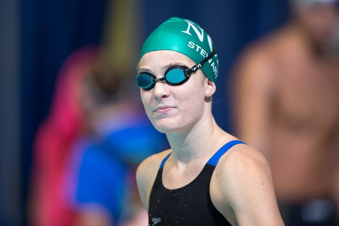 Race Video: Kendyl Stewart Becomes Fourth American Under 26 Seconds To Win 50 Butterfly
