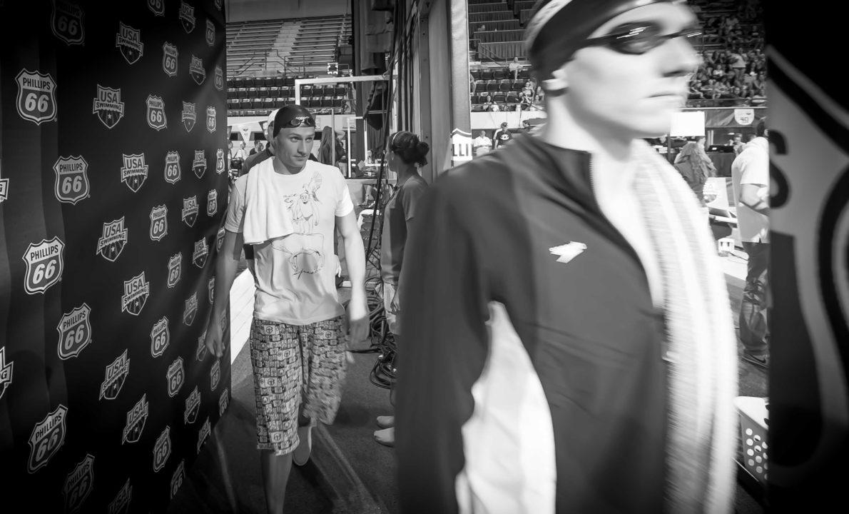 US World Trials GoPro Video Walk Through, Featuring Rowdy Gaines Masters Swim Practice