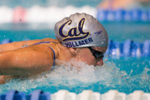 Dana Vollmer goes 1:00.0 in 100 fly in first swim since 2013 Worlds